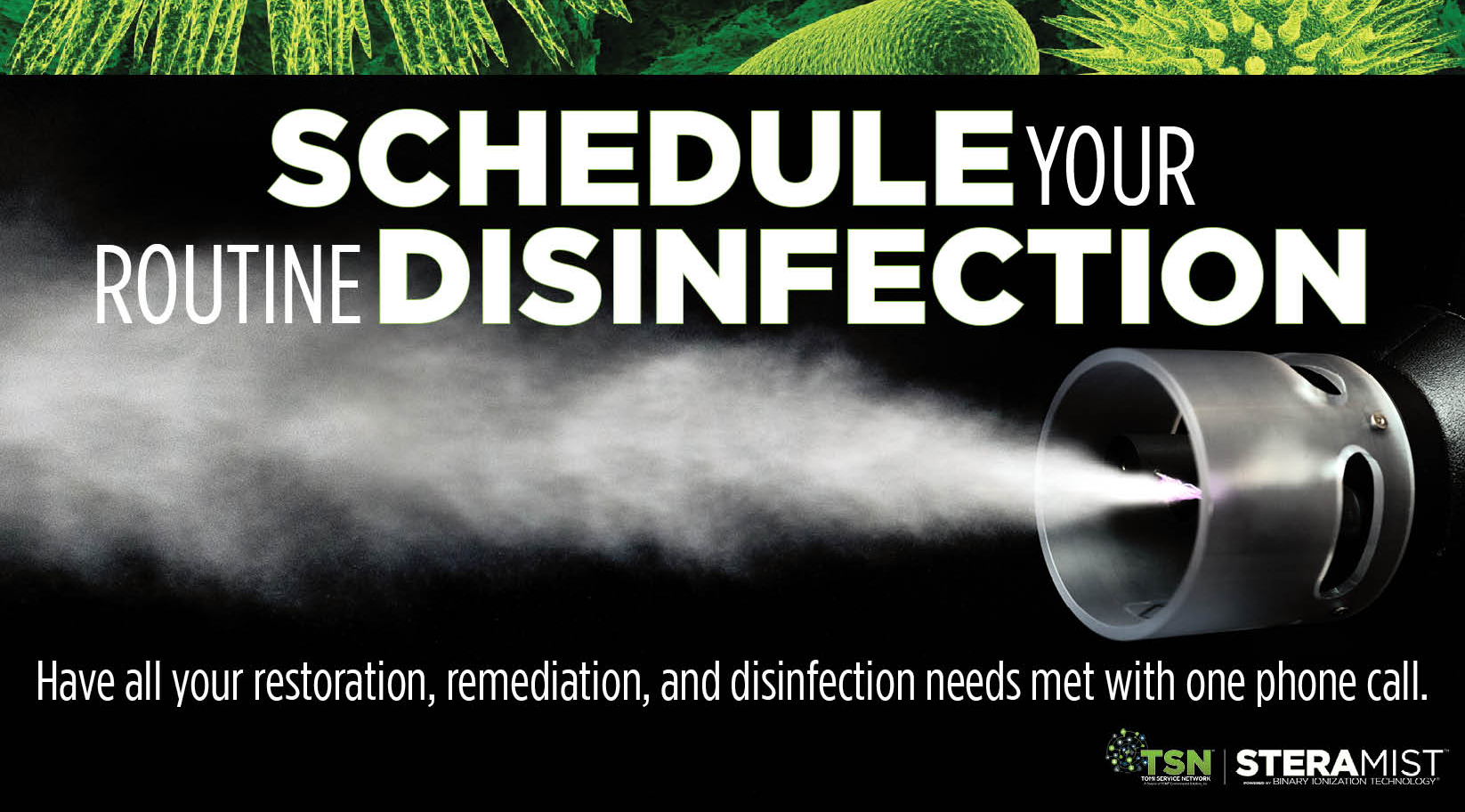professional disinfectant services